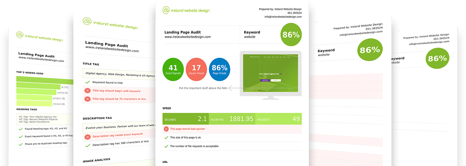 Website Audit Example