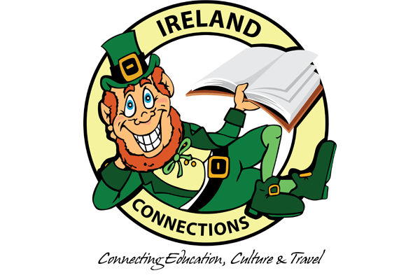Ireland Connections logo design